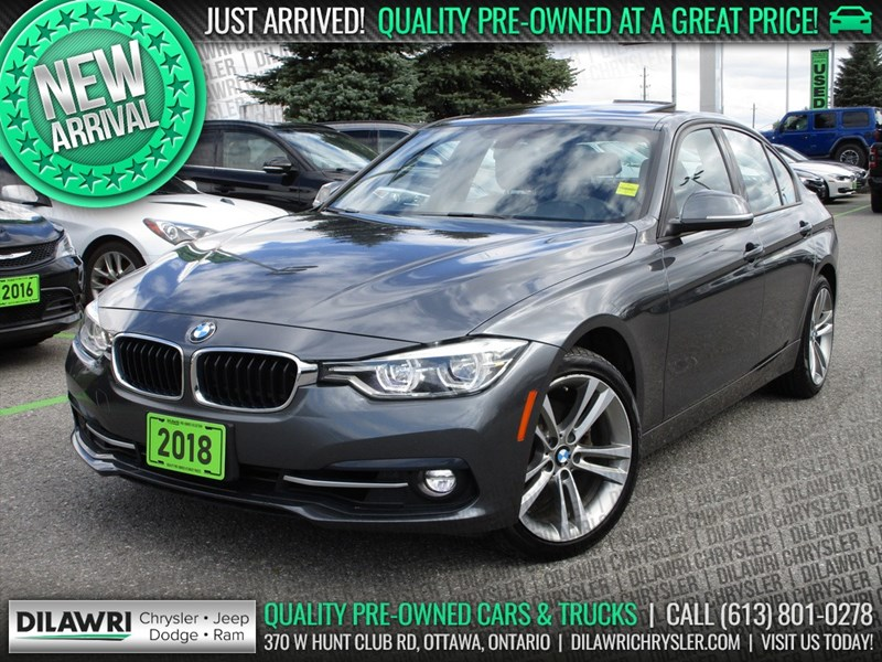 2018 BMW 330 xDrive Sport | Navigation, Sunroof