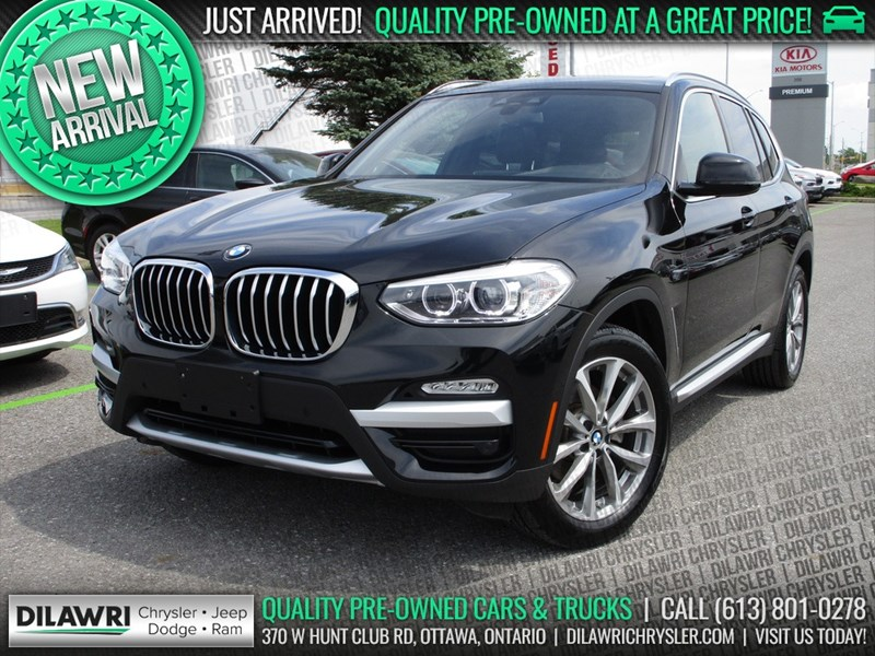 Ottawa S Used 2019 Bmw X3 Xdrive30i In Stock Used Vehicle Overview