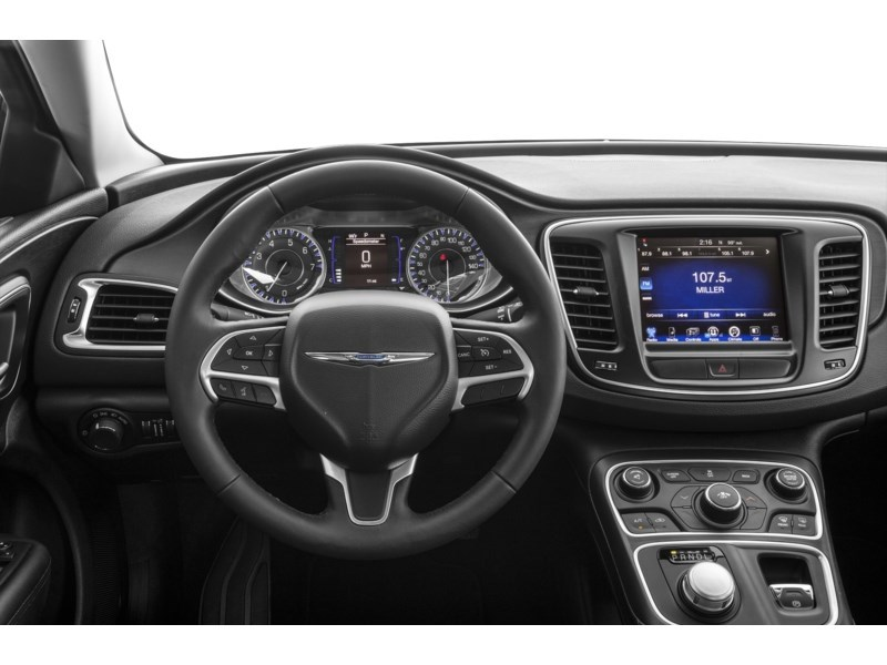 2016 Chrysler 200 Limited | Rear Camera, Heated Seats & Steering Interior Shot 3