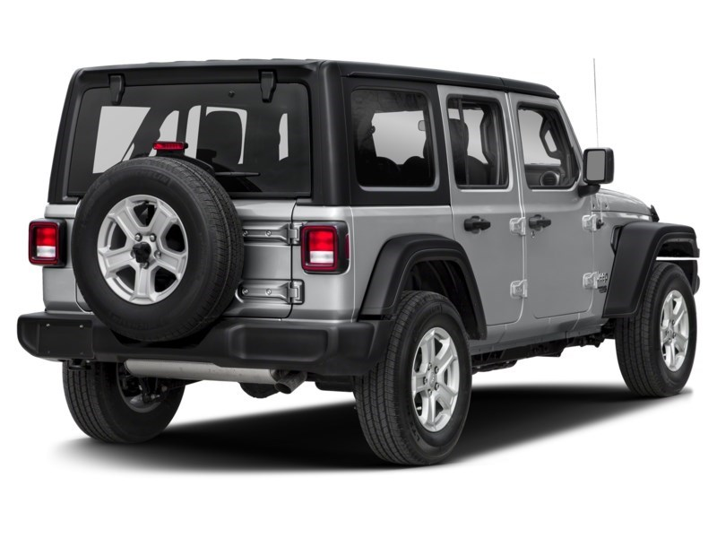 2019 Jeep Wrangler Unlimited Sahara w/ Leather, Nav, Dual Tops & Safety Exterior Shot 2