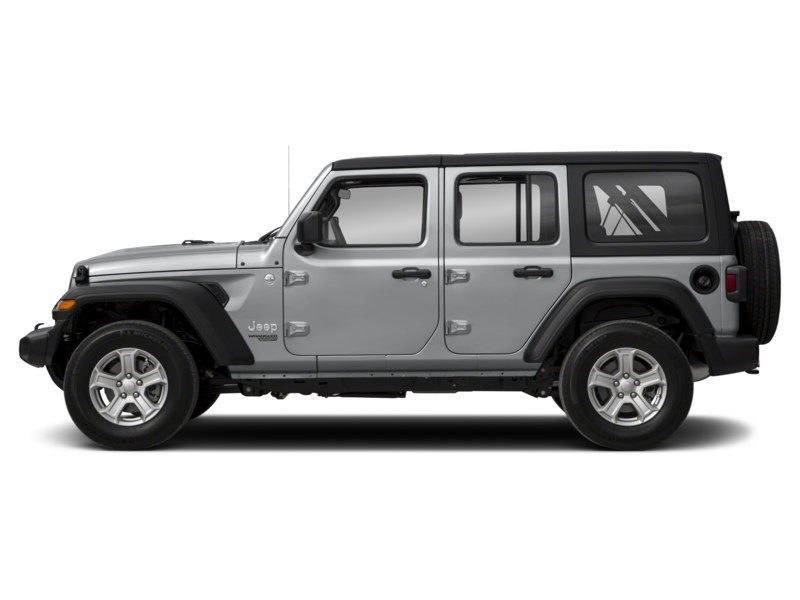 2019 Jeep Wrangler Unlimited Sahara w/ Leather, Nav, Dual Tops & Safety Exterior Shot 7