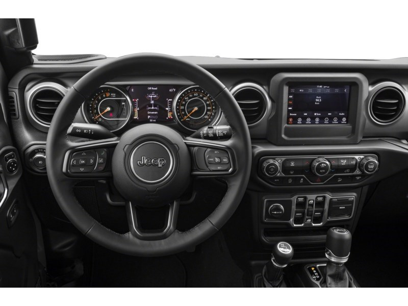 2019 Jeep Wrangler Unlimited Sahara w/ Leather, Nav, Dual Tops & Safety Interior Shot 3