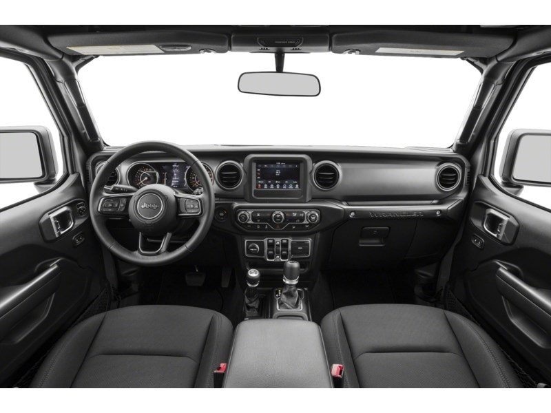 2019 Jeep Wrangler Unlimited Sahara w/ Leather, Nav, Dual Tops & Safety Interior Shot 6