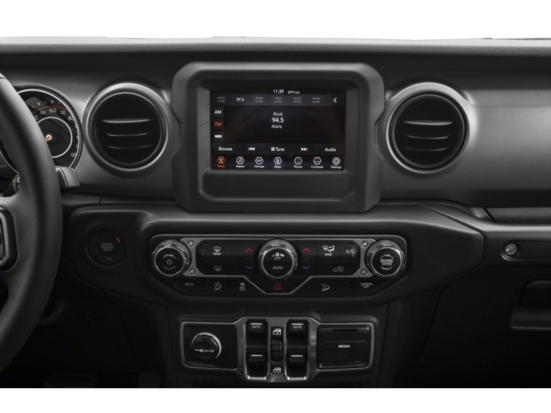 2019 Jeep Wrangler Unlimited Sahara w/ Leather, Nav, Dual Tops & Safety Interior Shot 2