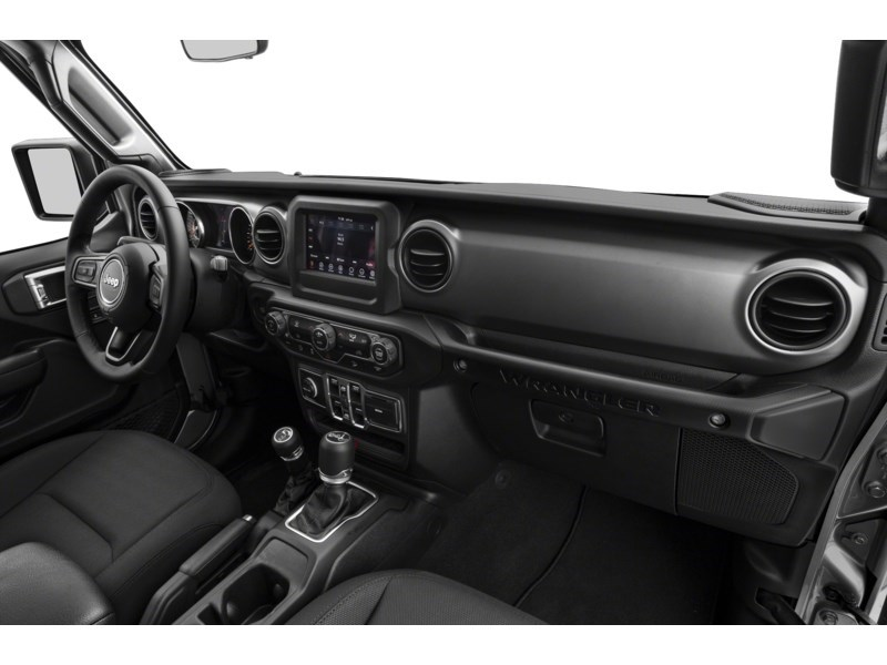 2019 Jeep Wrangler Unlimited Sahara w/ Leather, Nav, Dual Tops & Safety Interior Shot 1