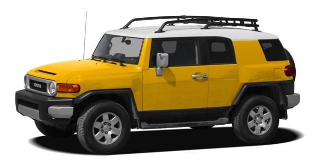 2010 Toyota FJ Cruiser Sun Fusion [Yellow]