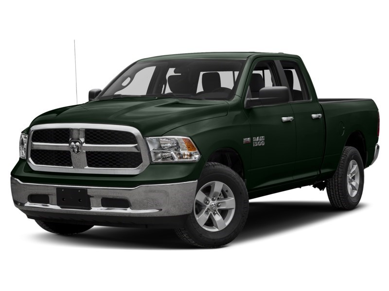 2016 RAM 1500 SLT 4X4 | 3.0 EcoDiesel, Rear Cam, Remote Start Black Forest Green Pearl  Shot 1