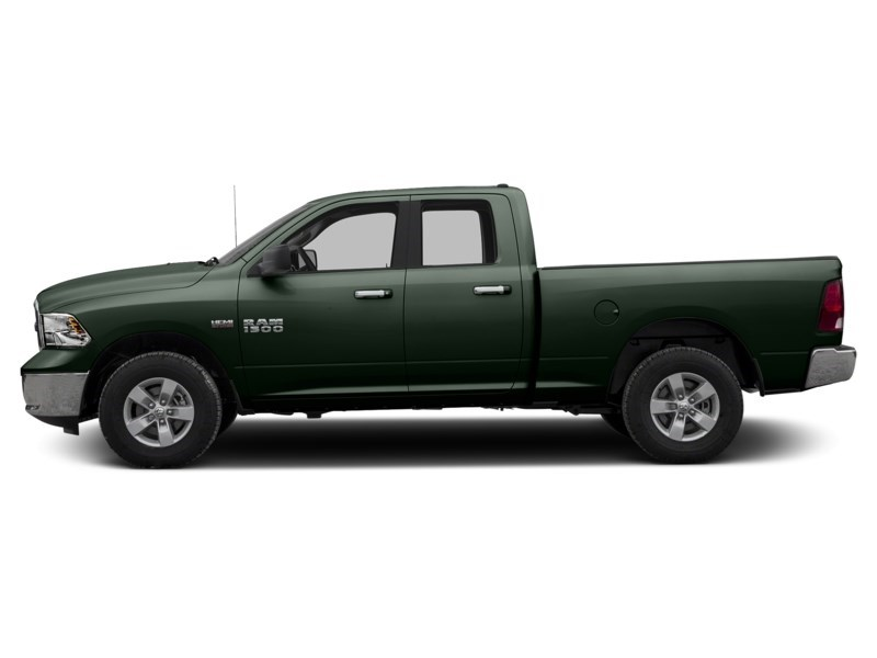 2016 RAM 1500 SLT 4X4 | 3.0 EcoDiesel, Rear Cam, Remote Start Black Forest Green Pearl  Shot 3