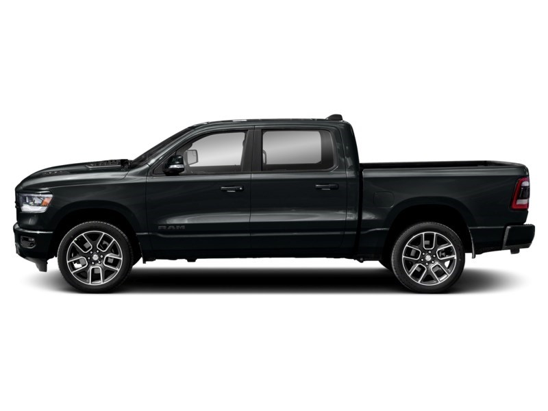 2020 RAM 1500 SPORT CREW 4X4 w/ Pano Roof/ Sport Hood/ Pwr Steps Maximum Steel Metallic  Shot 6