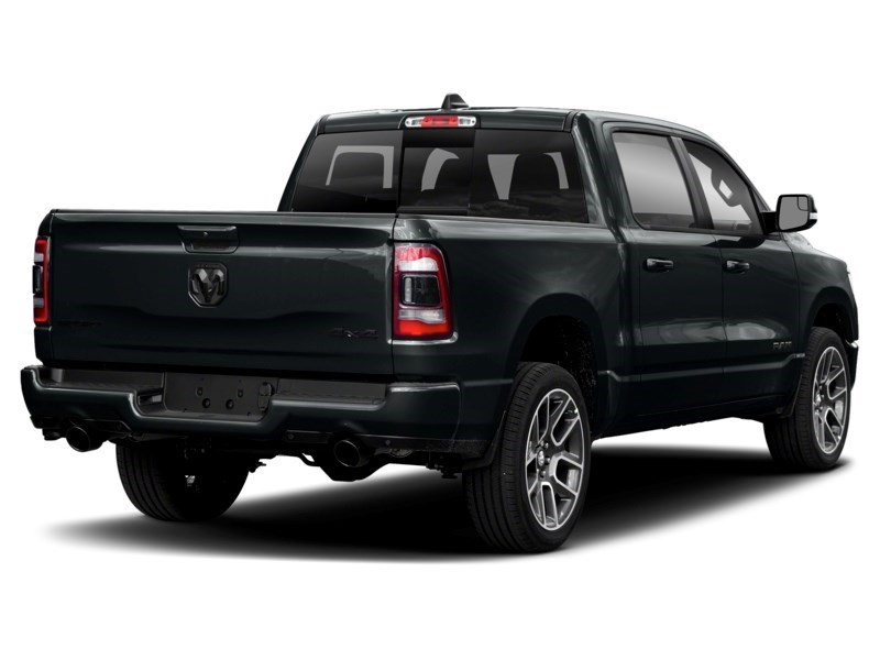 2020 RAM 1500 SPORT CREW 4X4 w/ Pano Roof/ Sport Hood/ Pwr Steps Maximum Steel Metallic  Shot 5