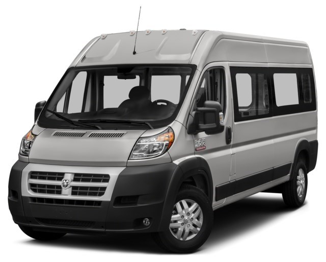 2018 RAM ProMaster 2500 Window Van Bright Silver Metallic [Silver]