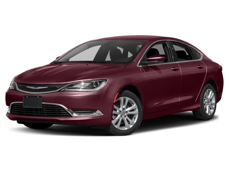 2016 Chrysler 200 Limited | Rear Camera, Heated Seats & Steering Velvet Red Pearl  Shot 1