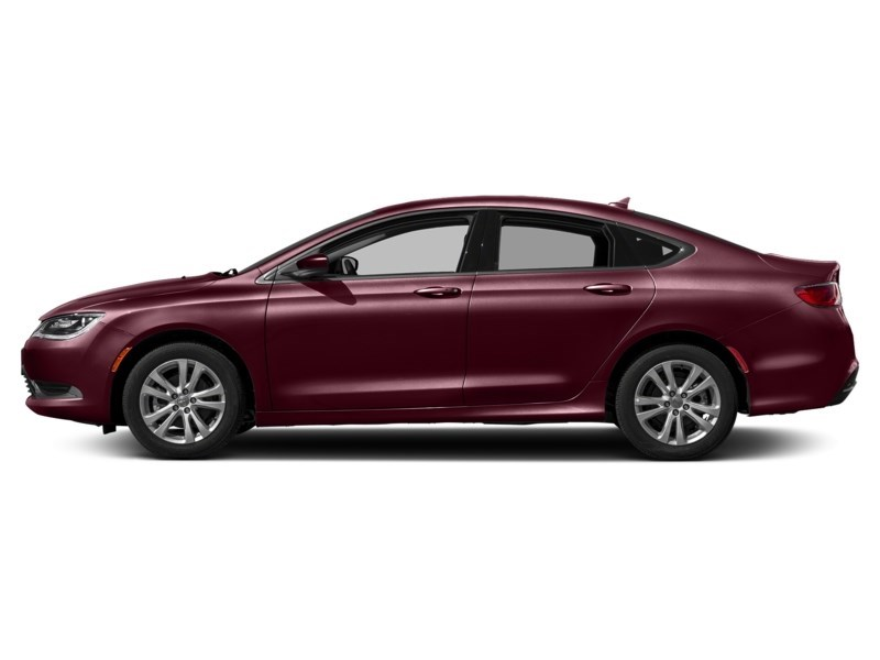 2016 Chrysler 200 Limited | Rear Camera, Heated Seats & Steering Velvet Red Pearl  Shot 3