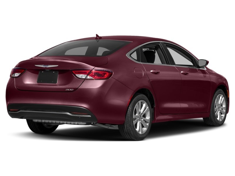 2016 Chrysler 200 Limited | Rear Camera, Heated Seats & Steering Velvet Red Pearl  Shot 2