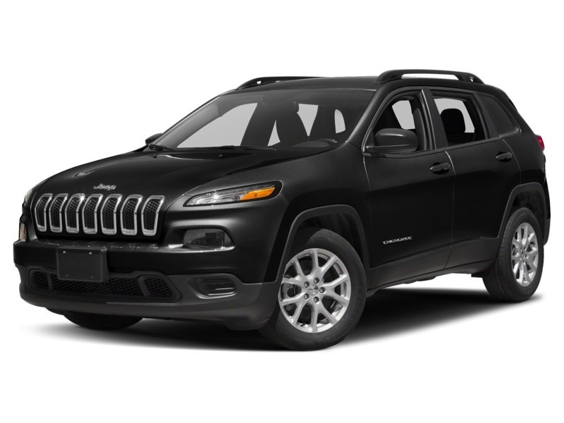 2015 Jeep Cherokee Sport 4X4 | V6, Heated Seats & Steering, Rear Cam Brilliant Black Crystal Pearl  Shot 1