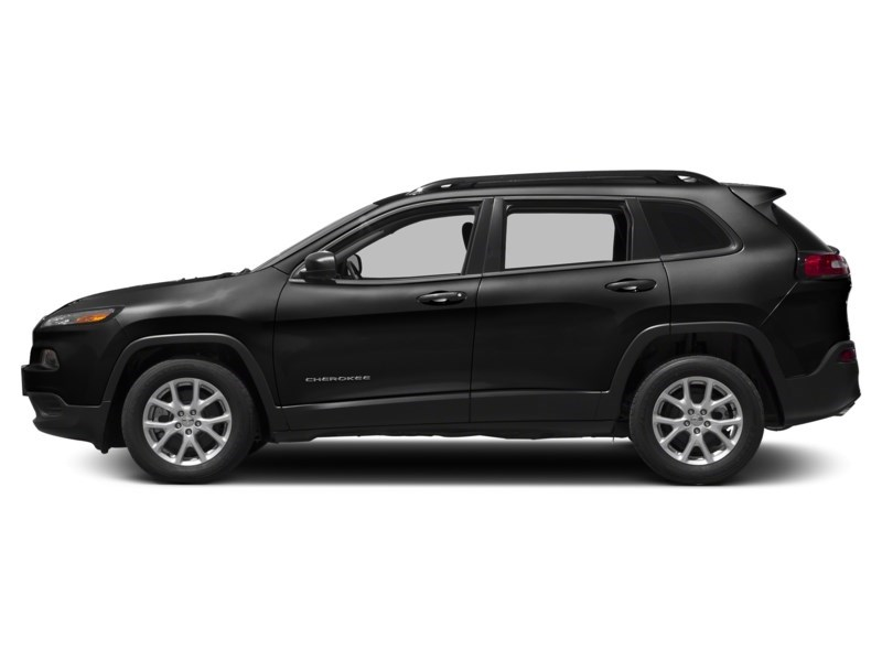 2015 Jeep Cherokee Sport 4X4 | V6, Heated Seats & Steering, Rear Cam Brilliant Black Crystal Pearl  Shot 3