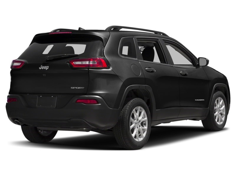 2015 Jeep Cherokee Sport 4X4 | V6, Heated Seats & Steering, Rear Cam Brilliant Black Crystal Pearl  Shot 2