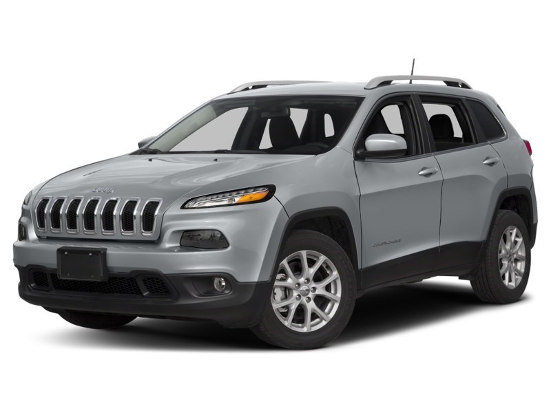 2017 Jeep Cherokee North 4X4 V6 w/ BACKUP CAM/ COLD WEATHER/ TOW PKG Billet Metallic  Shot 1