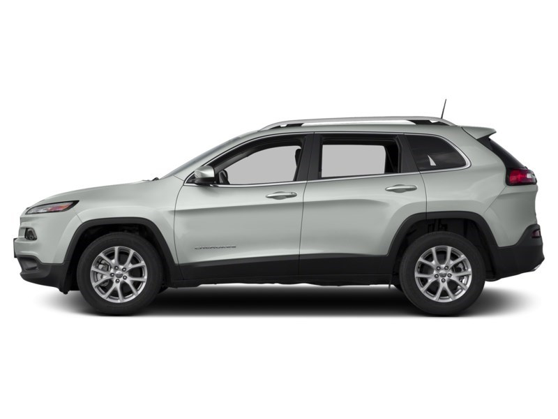 2014 Jeep Cherokee North | Heated Seats & Steering Wheel, Rear Camera Bright White Clearcoat  Shot 3