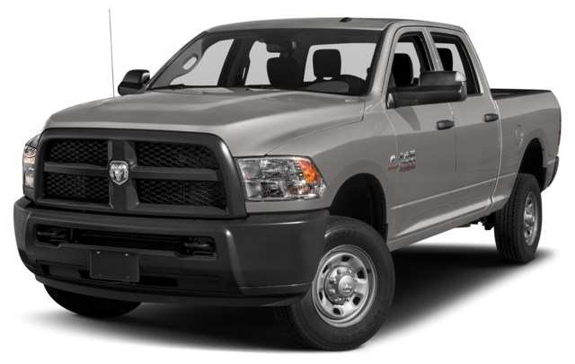 2018 RAM 2500 Bright Silver Metallic [Silver]