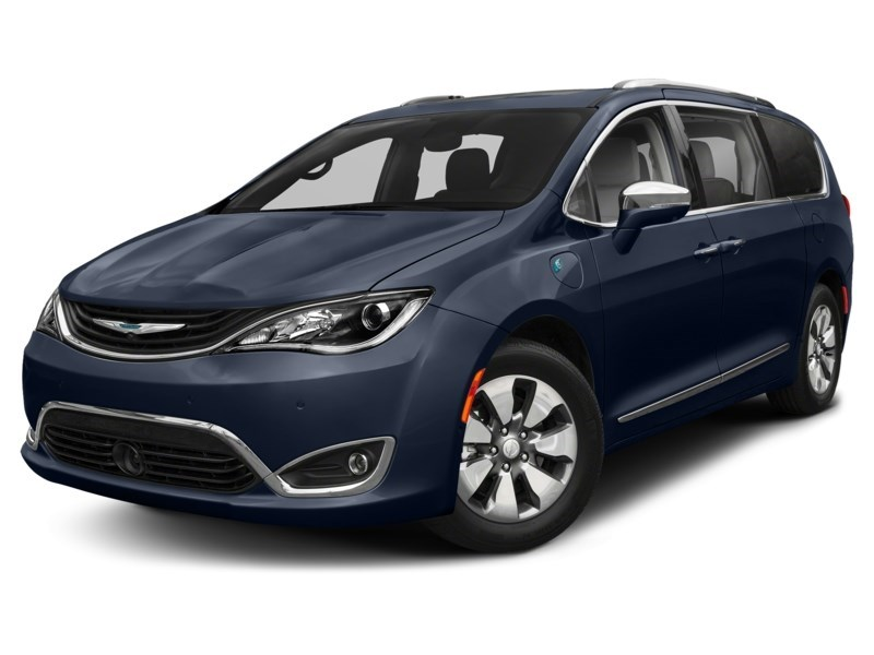 2017 Chrysler Pacifica Hybrid Premium Jazz Blue Pearl Shot 1