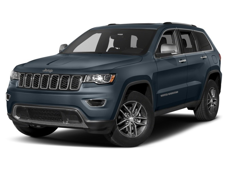 2021 Jeep Grand Cherokee Limited |Luxury II w/ Protech & Trailer Tow Pkg Slate Blue Pearl  Shot 4