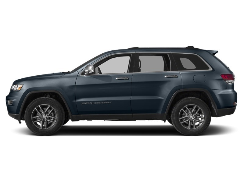 2021 Jeep Grand Cherokee Limited |Luxury II w/ Protech & Trailer Tow Pkg Slate Blue Pearl  Shot 3