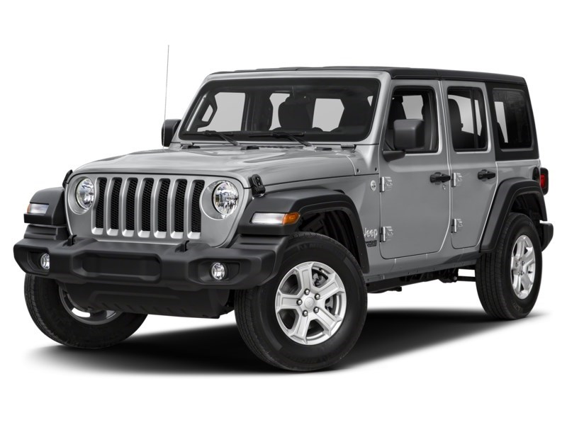 2019 Jeep Wrangler Unlimited Sahara w/ Leather, Nav, Dual Tops & Safety Billet Metallic  Shot 1