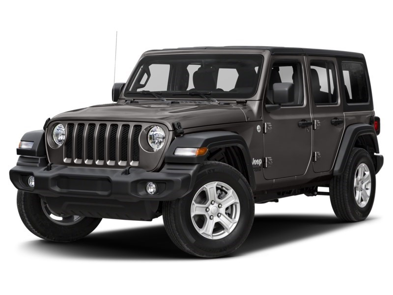 2020 Jeep Wrangler Unlimited Sahara w/ Leather, Nav, Dual Tops & Safety Granite Crystal Metallic  Shot 1