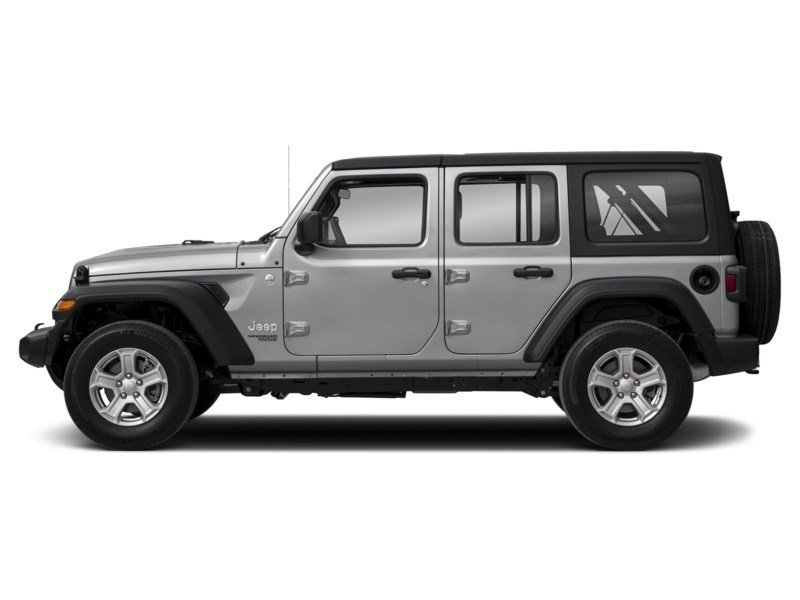 2019 Jeep Wrangler Unlimited Sahara w/ Leather, Nav, Dual Tops & Safety Billet Metallic  Shot 3
