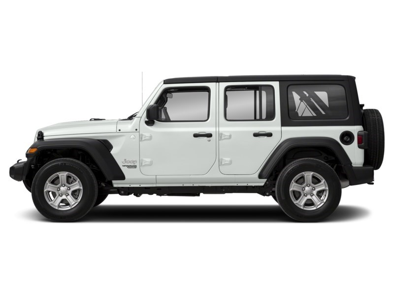 2020 Jeep Wrangler Unlimited Sport S 4X4 ***ONLY 185 BW FOR 60 MOS.*** Bright White  Shot 3