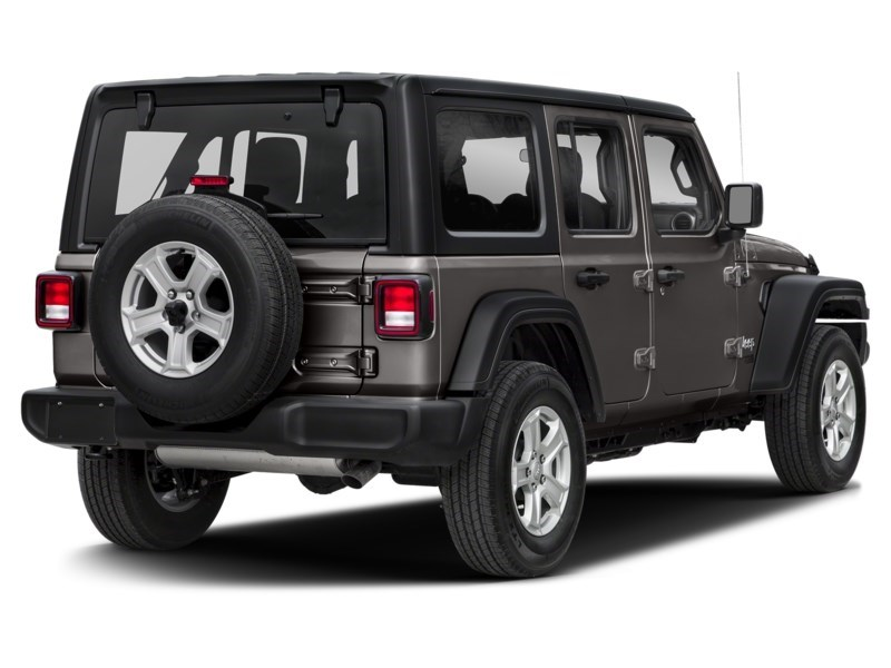 2020 Jeep Wrangler Unlimited Sahara w/ Leather, Nav, Dual Tops & Safety Granite Crystal Metallic  Shot 2
