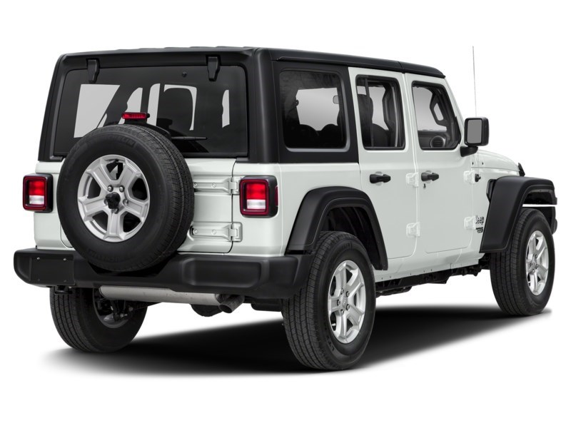 2020 Jeep Wrangler Unlimited Sport S 4X4 ***ONLY 185 BW FOR 60 MOS.*** Bright White  Shot 2