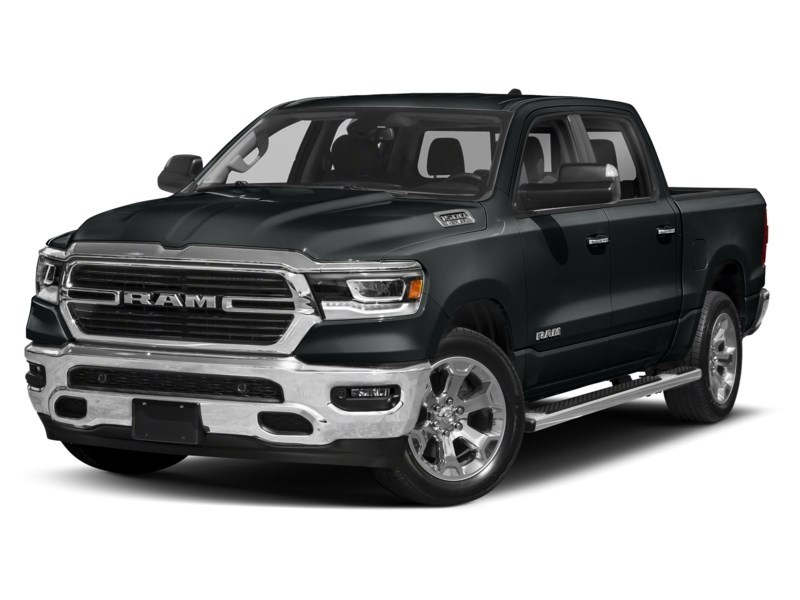 2020 RAM 1500 SPORT CREW CAB 4X4- Leather/ Pano Roof/ Sport Hood Maximum Steel Metallic  Shot 4