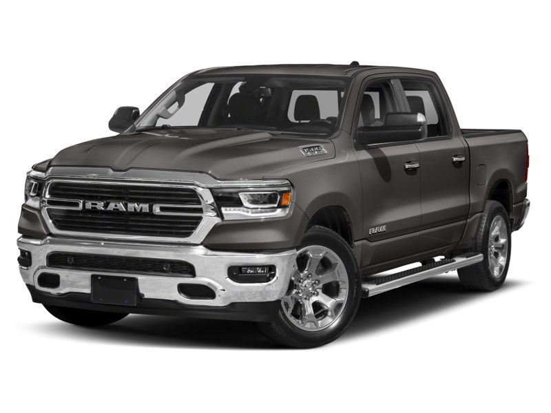 2020 RAM 1500 SPORT CREW CAB 4X4- Leather/ Pano Roof/ Sport Hood Granite Crystal Metallic  Shot 7