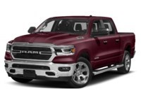 2020 RAM 1500 SPORT CREW CAB 4X4- Leather/ Pano Roof/ Sport Hood Red Pearl  Shot 16