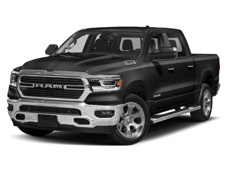 2020 RAM 1500 SPORT CREW CAB 4X4- Leather/ Pano Roof/ Sport Hood Diamond Black Crystal Pearl  Shot 25