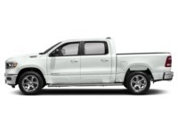 2020 RAM 1500 SPORT CREW CAB 4X4- Leather/ Pano Roof/ Sport Hood Bright White  Shot 3