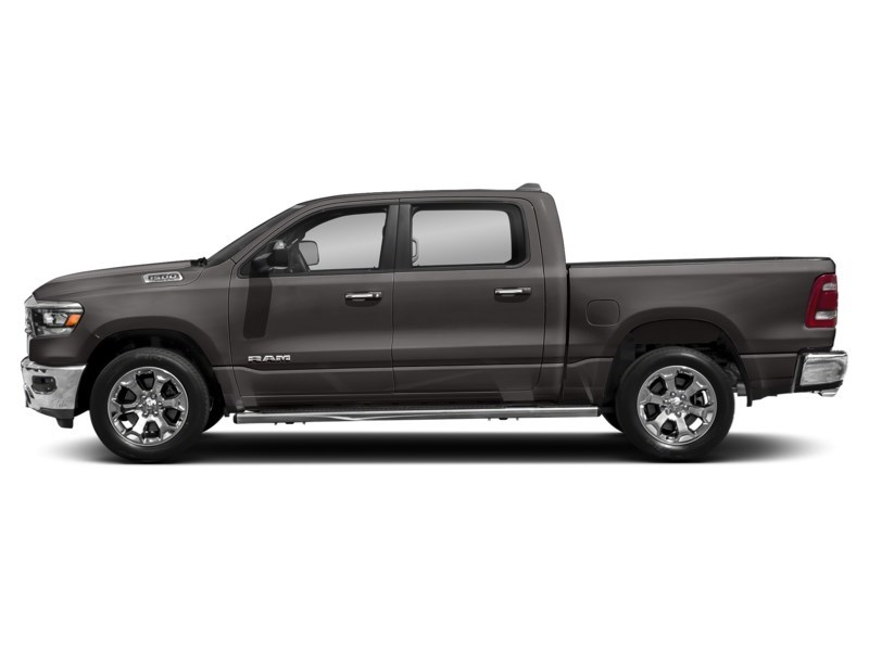 2020 RAM 1500 SPORT CREW CAB 4X4- Leather/ Pano Roof/ Sport Hood Granite Crystal Metallic  Shot 9