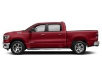 2020 RAM 1500 SPORT CREW CAB 4X4- Leather/ Pano Roof/ Sport Hood Flame Red  Shot 15
