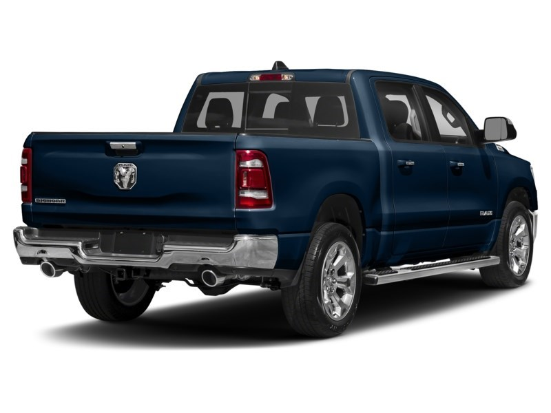 2020 RAM 1500 SPORT CREW CAB 4X4- Leather/ Pano Roof/ Sport Hood Patriot Blue Pearl  Shot 11