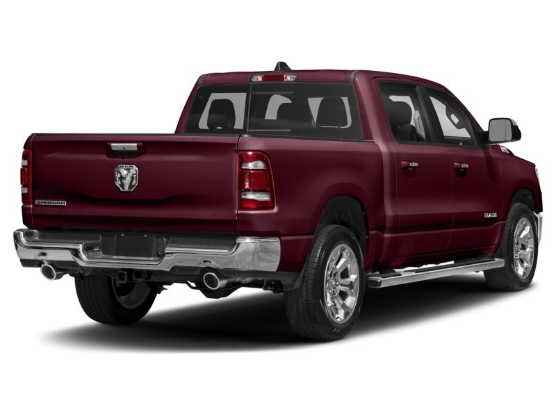 2020 RAM 1500 SPORT CREW CAB 4X4- Leather/ Pano Roof/ Sport Hood Red Pearl  Shot 17