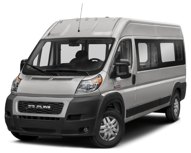 2020 RAM ProMaster 3500 Window Van Bright Silver Metallic [Silver]