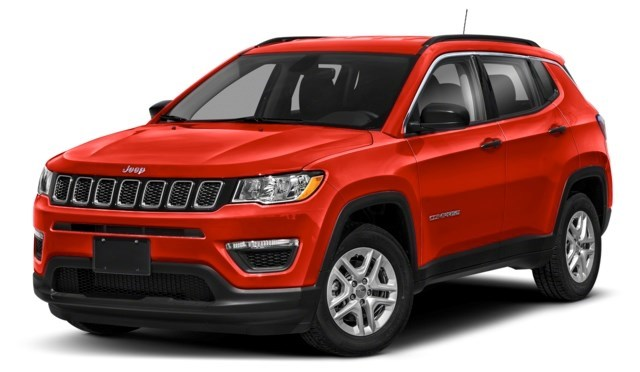 2020 Jeep Compass Spitfire Orange [Orange]