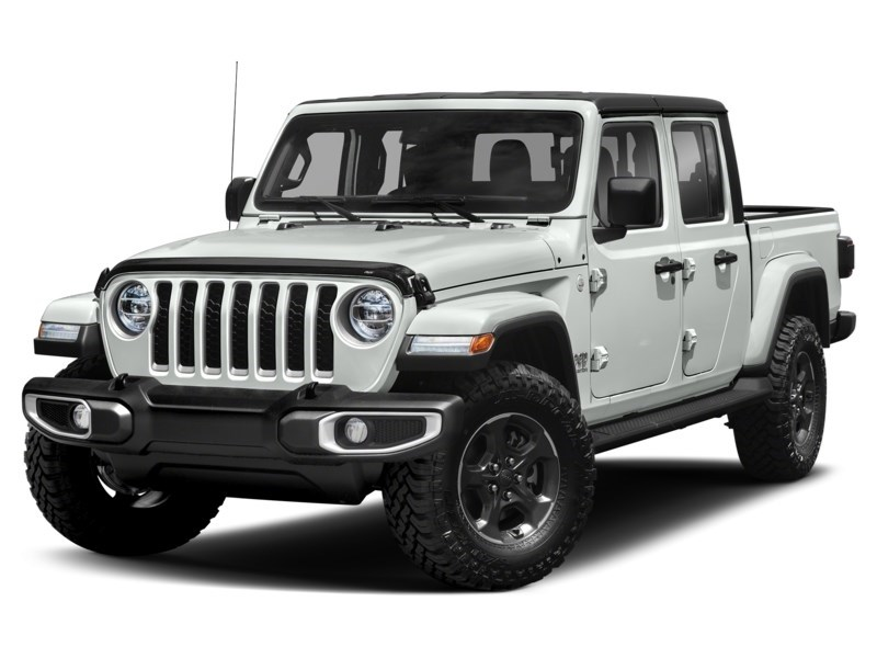 2020 Jeep Gladiator Rubicon Bright White  Shot 1