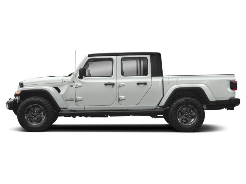 2020 Jeep Gladiator Rubicon Bright White  Shot 3