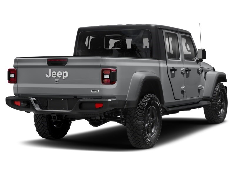 2020 Jeep Gladiator Rubicon Billet Silver Metallic  Shot 17